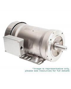 Motor, 1hp, 1200rpm, 3-Phase 230/460V, 143TC