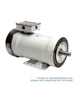 Motor, 3hp, 1800rpm, 3-Phase 230/460V, 100L-B5