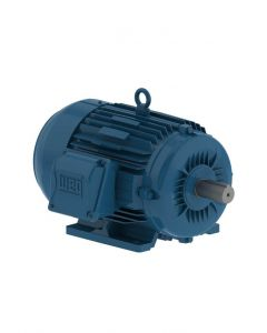 Motor, 3 Phase, 5hp, 1800rpm, TEFC, Foot Mount