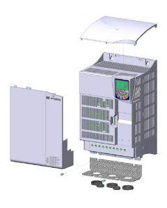 AC Drive, 40hp, 3 Phase 380-480 Vac, 49A, E