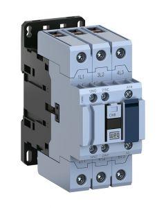 Contactor, IEC, 50A, 3 NO Pole, 120VAC Coil