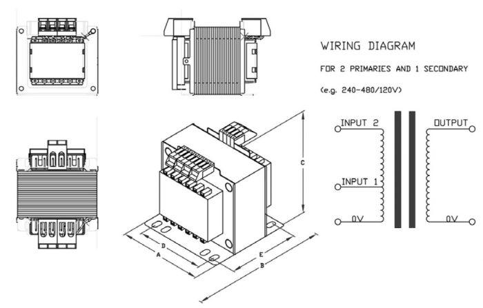 transformer 480v to 24 v control wiring diagram simple wiringt1 300 240 480 24 tecnomatic transformers transformer 480v to 24 v control wiring diagram
